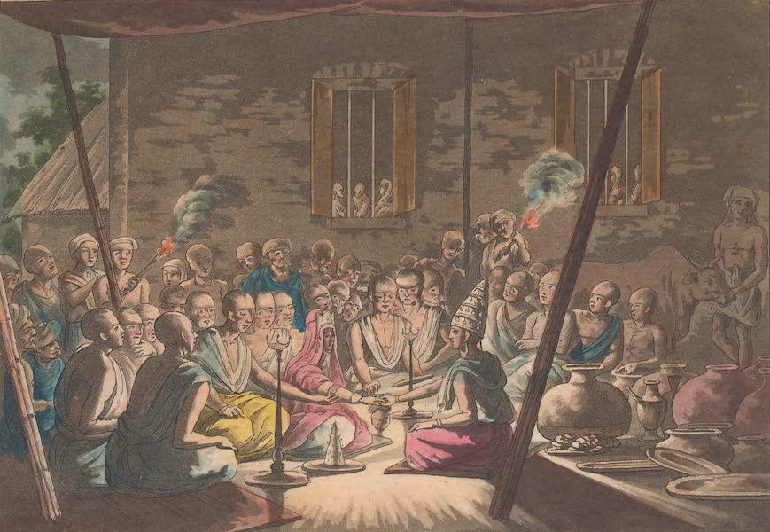 Le Costume Ancien et Moderne [Asie] Vol. 2 - Ceremonies nuptiales (1817)