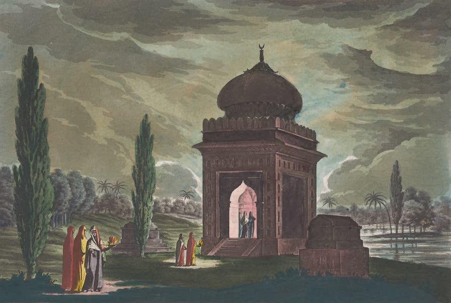 Le Costume Ancien et Moderne [Asie] Vol. 2 - Musulmanes aux tombeaux de leurs parens (1817)