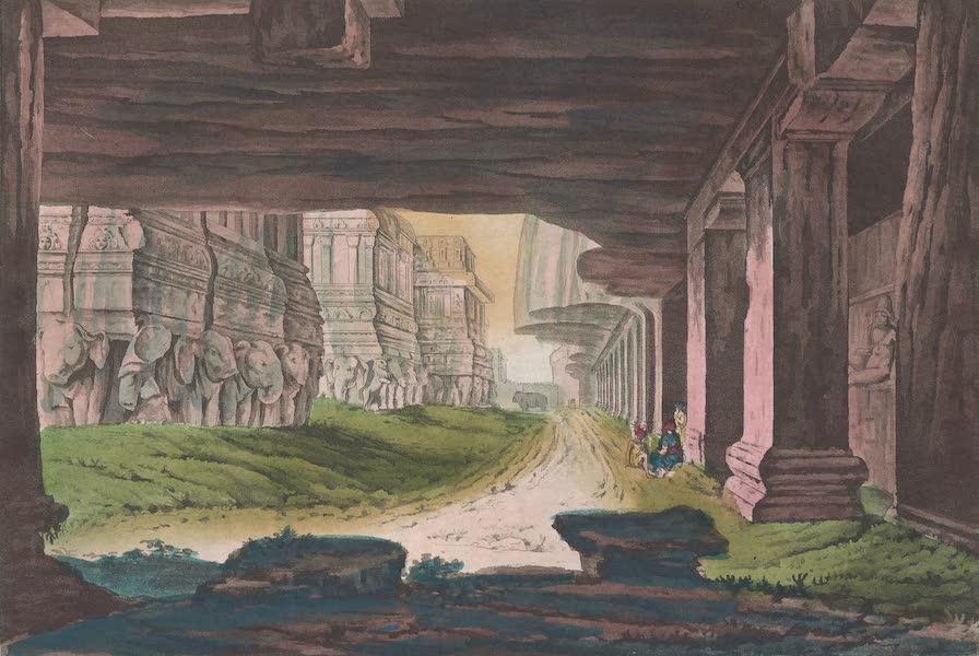 Le Costume Ancien et Moderne [Asie] Vol. 2 - Vues nord-est et sud-est du Kailassa [I] (1817)
