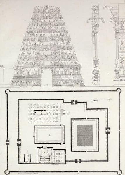 Le Costume Ancien et Moderne [Asie] Vol. 2 - Pagode de Chalembrom (1817)