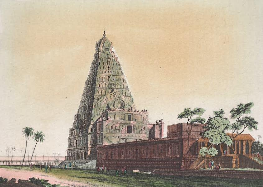 Le Costume Ancien et Moderne [Asie] Vol. 2 - Pagode de Tanjaour (1817)