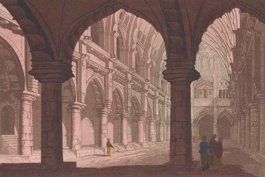 Le Costume Ancien et Moderne [Asie] Vol. 2 - Palais a Madhureh (1817)