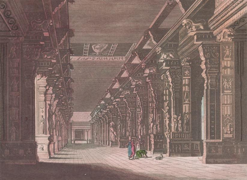 Le Costume Ancien et Moderne [Asie] Vol. 2 - Le grand Choultri de Madhureth (1817)