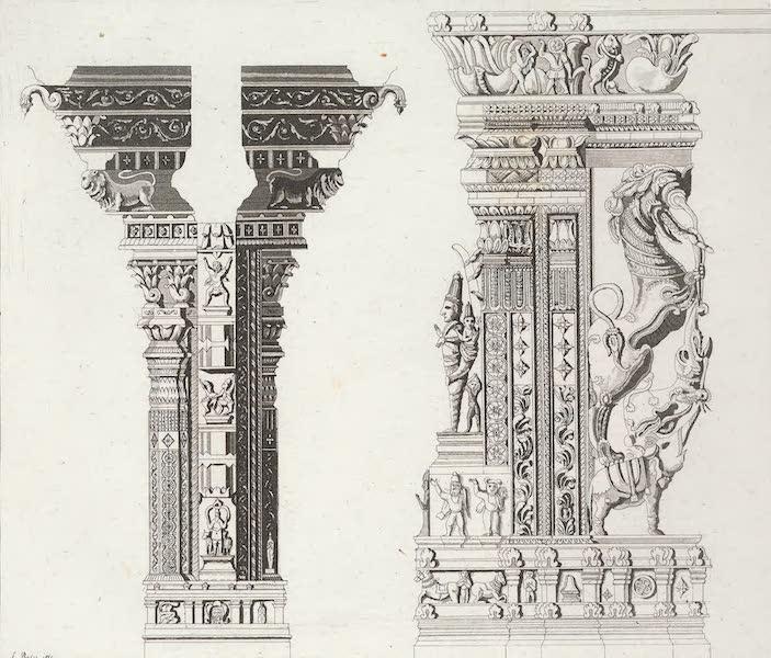 Le Costume Ancien et Moderne [Asie] Vol. 2 - Pilastres du Choultri (1817)
