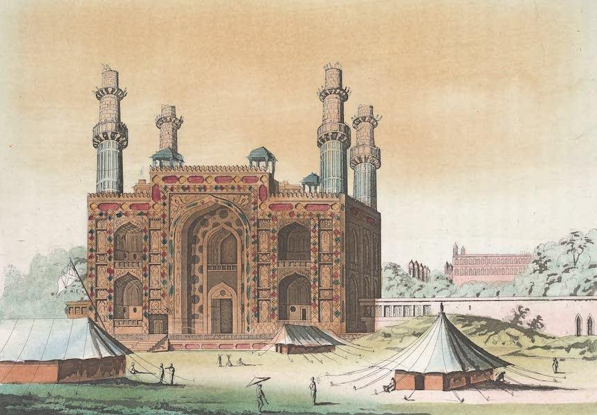 Le Costume Ancien et Moderne [Asie] Vol. 2 - Tombeau d'Akbar (1817)