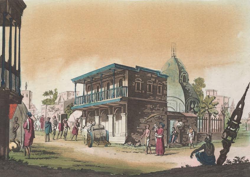Le Costume Ancien et Moderne [Asie] Vol. 2 - Vue d'une rue de Calcutta (1817)