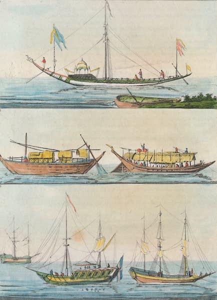 Le Costume Ancien et Moderne [Asie] Vol. 2 - Bateaux, et Barques (1817)