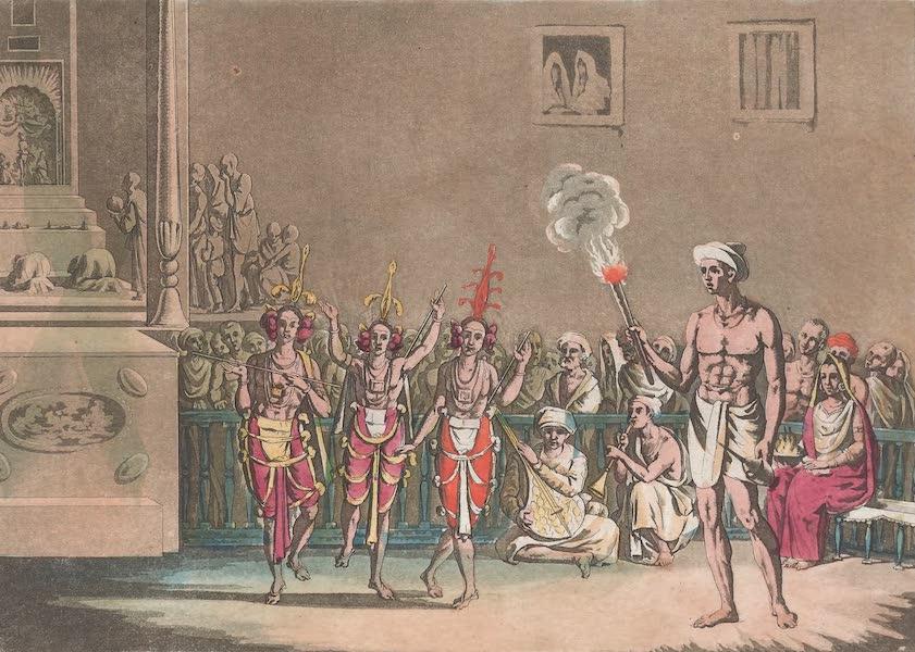 Le Costume Ancien et Moderne [Asie] Vol. 2 - Danse des Ram-genye ou danseuses (1817)
