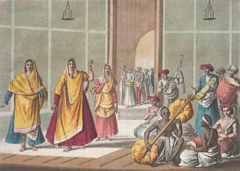 Le Costume Ancien et Moderne [Asie] Vol. 2 - Danseurs appeles Balok (1817)