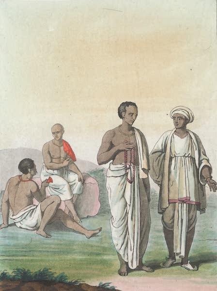 Le Costume Ancien et Moderne [Asie] Vol. 2 - Variete de l'habillement dans l'Inde (1817)