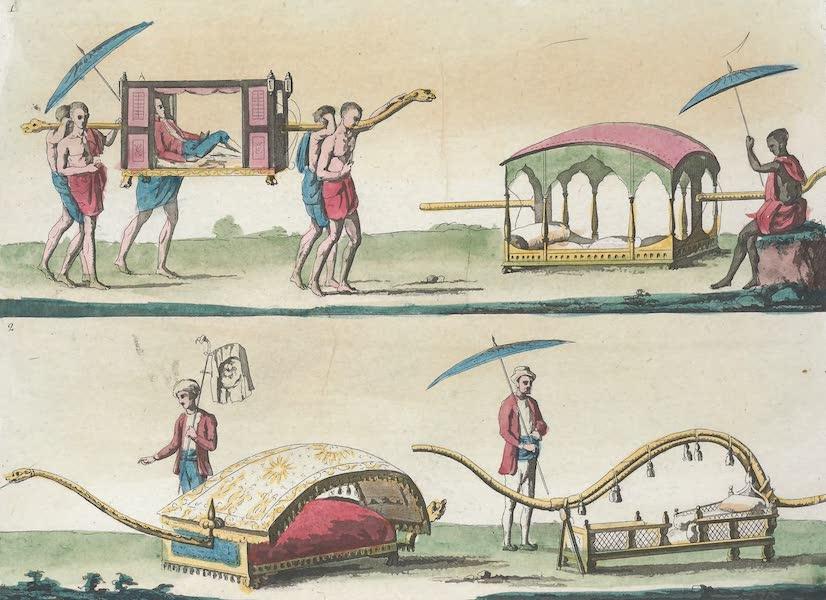 Le Costume Ancien et Moderne [Asie] Vol. 2 - Voitures (1817)
