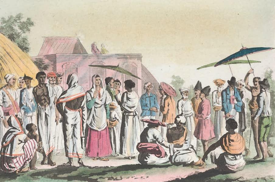 Le Costume Ancien et Moderne [Asie] Vol. 2 - Palankins (1817)
