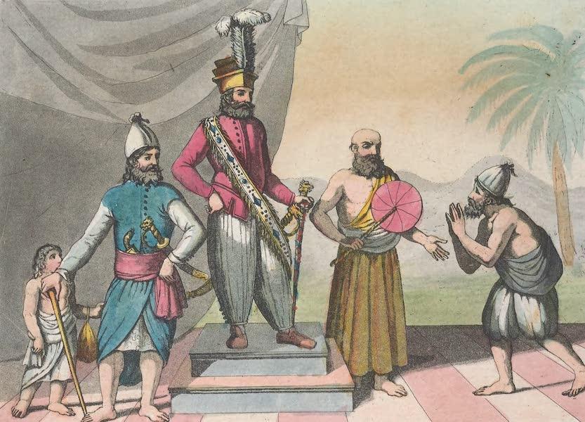 Le Costume Ancien et Moderne [Asie] Vol. 2 - Rajah-Singa etc (1817)