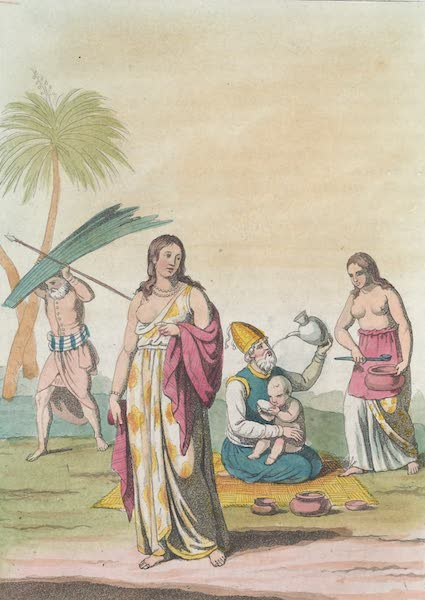 Le Costume Ancien et Moderne [Asie] Vol. 2 - Habillement et parure des femmes etc (1817)