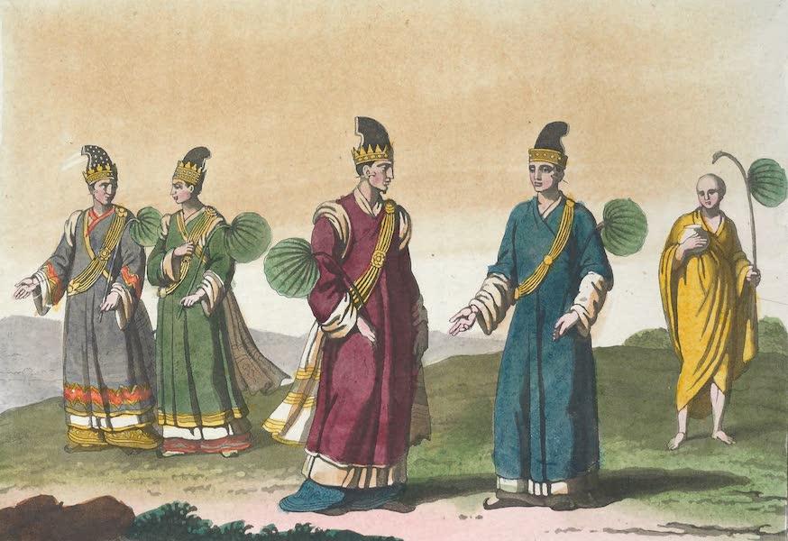 Le Costume Ancien et Moderne [Asie] Vol. 2 - Vounge, Maivoun, Voundoc, etc (1817)