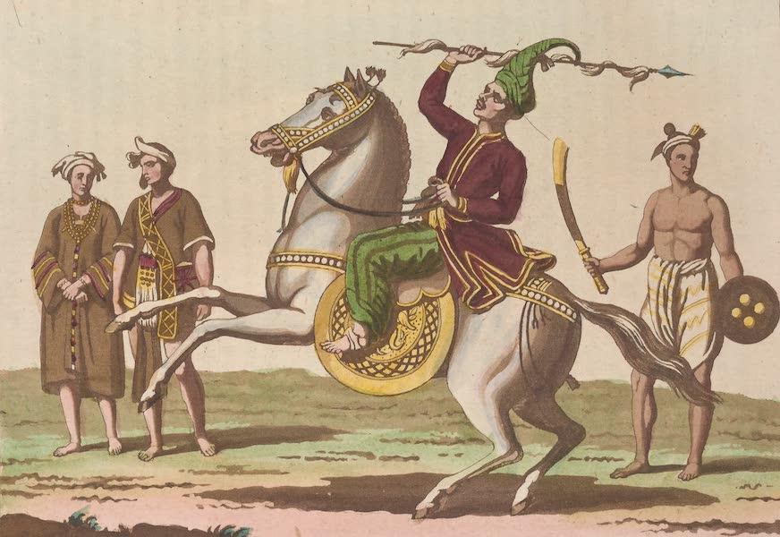 Le Costume Ancien et Moderne [Asie] Vol. 2 - Infanterie, Cavalerie (1817)