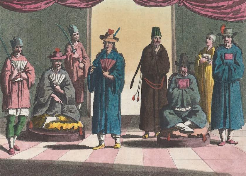 Le Costume Ancien et Moderne [Asie] Vol. 2 - Corteges du Roi et de la Reine [I] (1817)