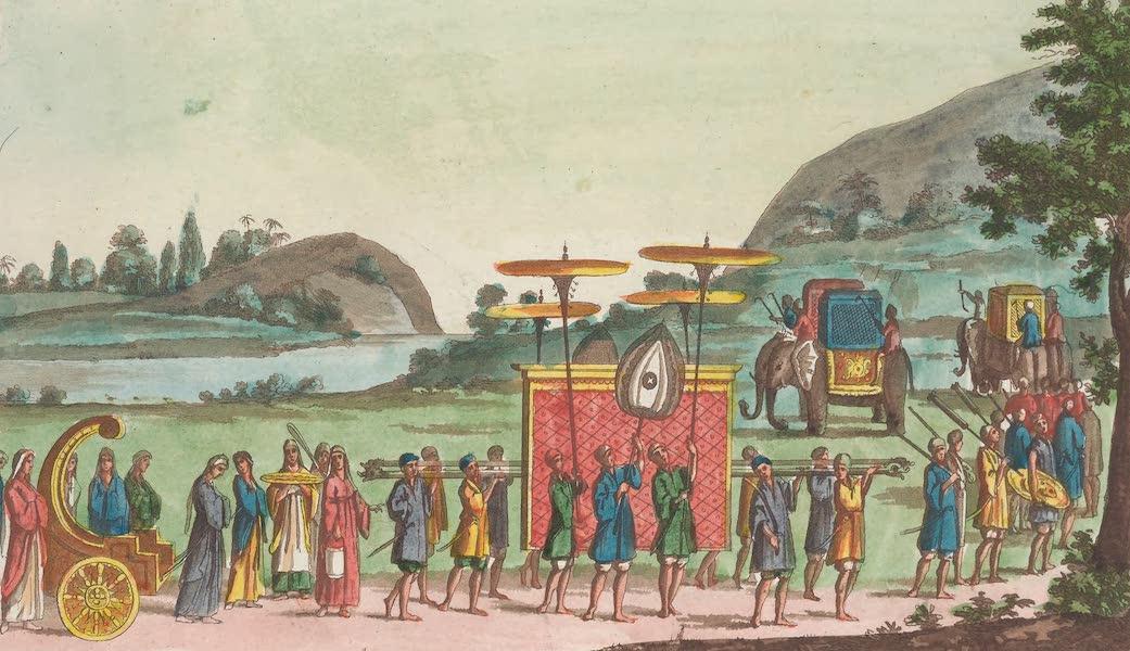 Le Costume Ancien et Moderne [Asie] Vol. 2 - Corteges du Roi et de la Reine [II] (1817)