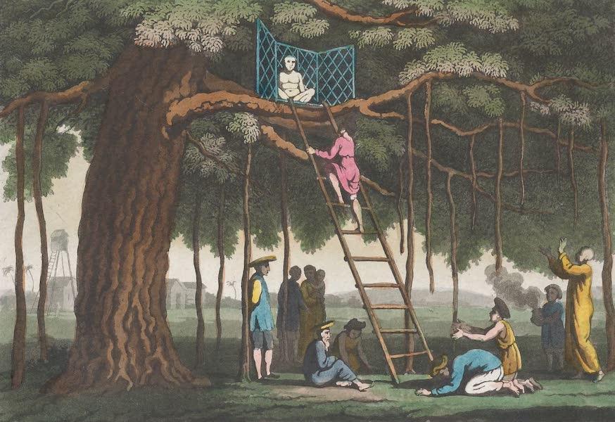 Le Costume Ancien et Moderne [Asie] Vol. 2 - Offrande au Dieu Fo (1817)