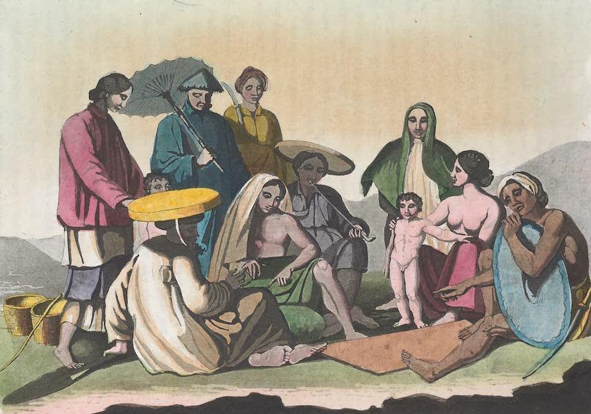 Le Costume Ancien et Moderne [Asie] Vol. 2 - Groupe des Cochinchinois (1817)