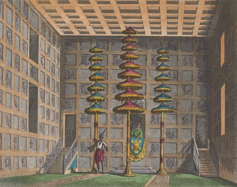 Le Costume Ancien et Moderne [Asie] Vol. 2 - Salle des audiences solennelles (1817)