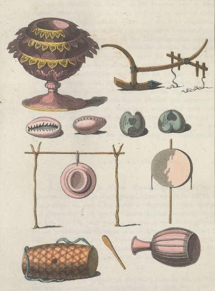 Le Costume Ancien et Moderne [Asie] Vol. 2 - Charrue, Vases, Instrumens etc (1817)
