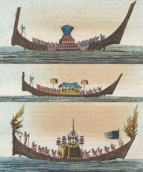 Le Costume Ancien et Moderne [Asie] Vol. 2 - Navires ou Balons (1817)