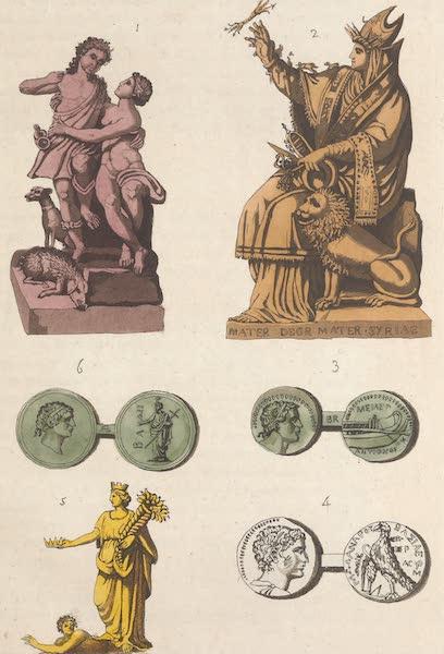Le Costume Ancien et Moderne [Asie] Vol. 3 - Type de Tyr et de Sidon, Adonis , et Venus Deesse Syrienne (1817)