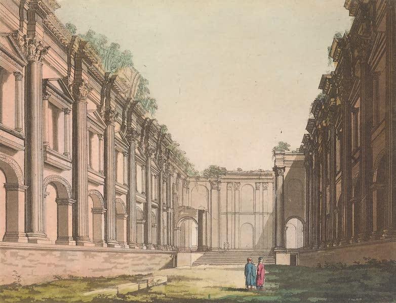 Le Costume Ancien et Moderne [Asie] Vol. 3 - Interieur du meme temple (1817)