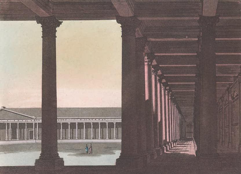 Le Costume Ancien et Moderne [Asie] Vol. 3 - Vue de la cour du temple de Palmyre (1817)
