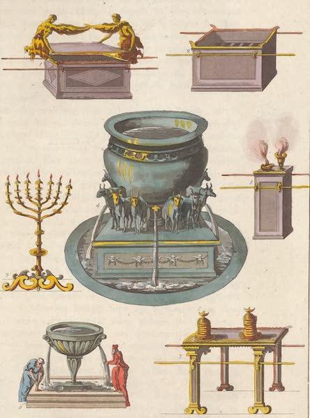 Le Costume Ancien et Moderne [Asie] Vol. 3 - Arche d'alliance, tabernacle, cuve d'airain etc (1817)