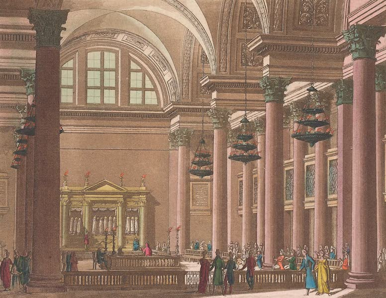 Le Costume Ancien et Moderne [Asie] Vol. 3 - Synagogue (1817)