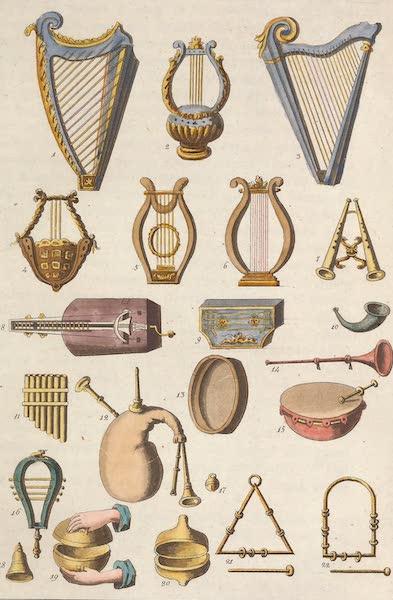 Le Costume Ancien et Moderne [Asie] Vol. 3 - Insrumens de musique (1817)