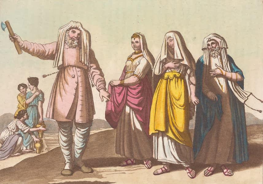 Le Costume Ancien et Moderne [Asie] Vol. 3 - Habillement des Juifs (1817)