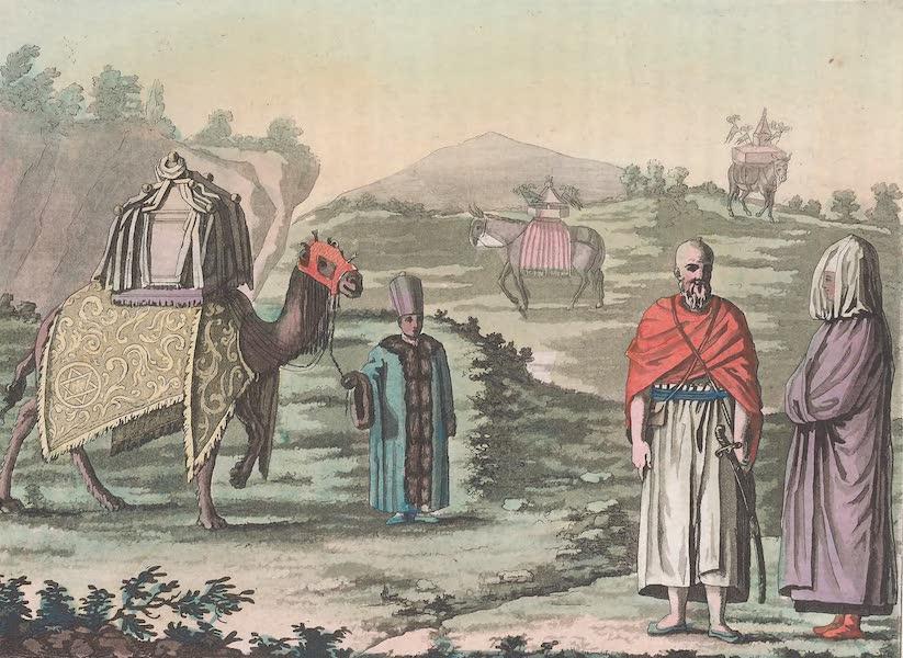 Le Costume Ancien et Moderne [Asie] Vol. 3 - Exercices militaires de l'Yemen (1817)