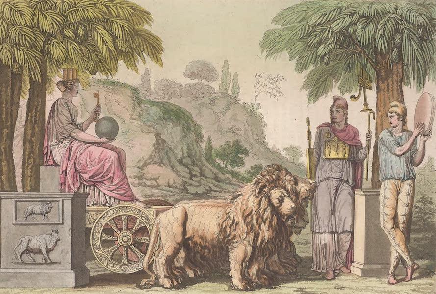 Le Costume Ancien et Moderne [Asie] Vol. 3 - Cybele, et Atys (1817)
