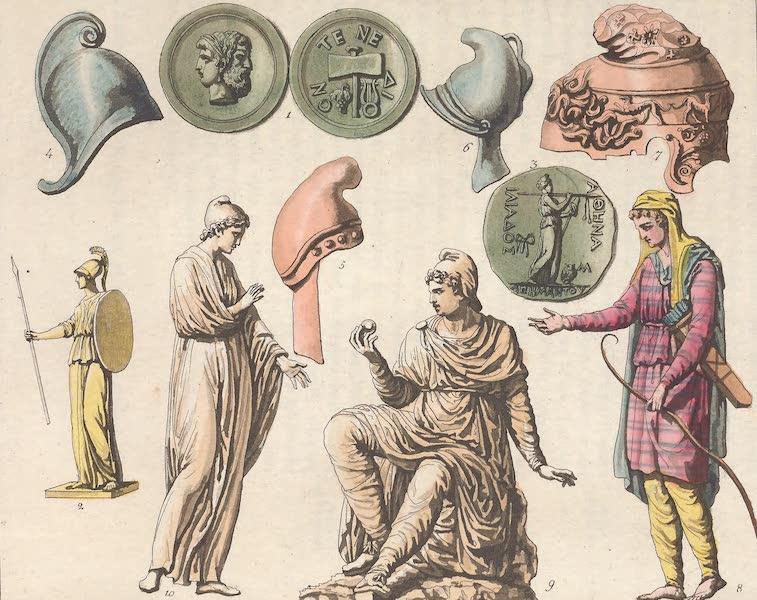 Le Costume Ancien et Moderne [Asie] Vol. 3 - Medailles de Tenedos, Palladium, Paris etc (1817)
