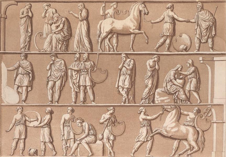 Le Costume Ancien et Moderne [Asie] Vol. 3 - Cadavre d'Hector porte a Troie (1817)