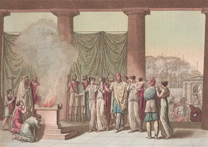 Le Costume Ancien et Moderne [Asie] Vol. 3 - La famille de Priam apres le depart d'Hector (1817)