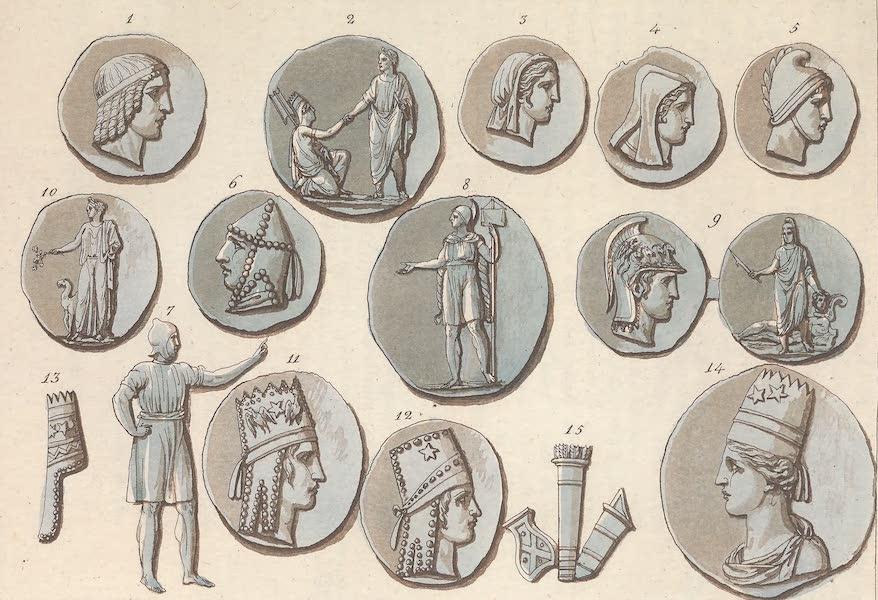 Le Costume Ancien et Moderne [Asie] Vol. 3 - Medailles representantes de Lyciens (1817)