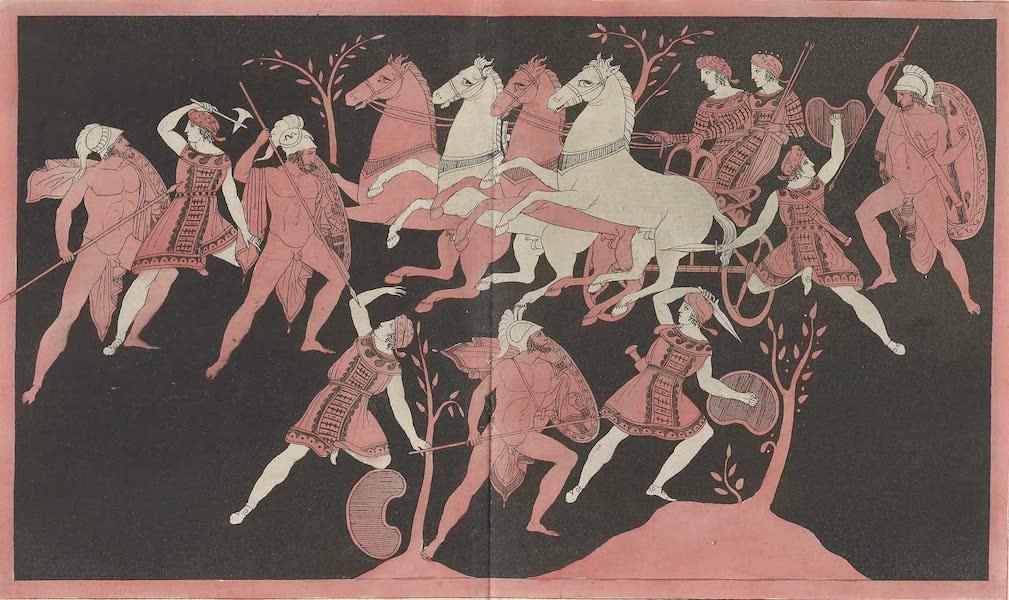 Le Costume Ancien et Moderne [Asie] Vol. 3 - Le combat des Amazones Hyppolite et Dinomaque (1817)