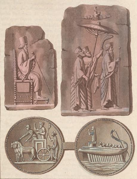 Le Costume Ancien et Moderne [Asie] Vol. 3 - Bas-reliefs de Persepolis (1817)
