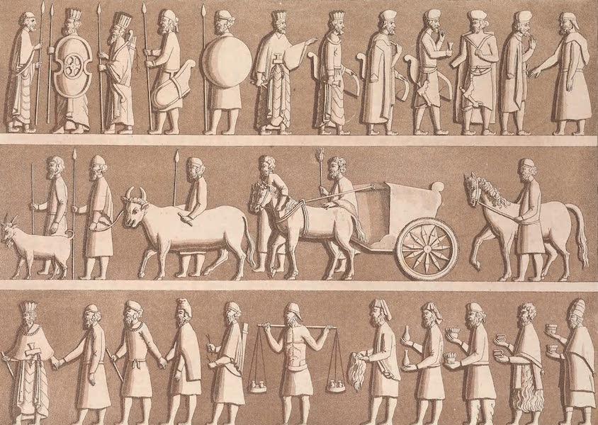 Le Costume Ancien et Moderne [Asie] Vol. 3 - Costume des Rois Achemenides (1817)