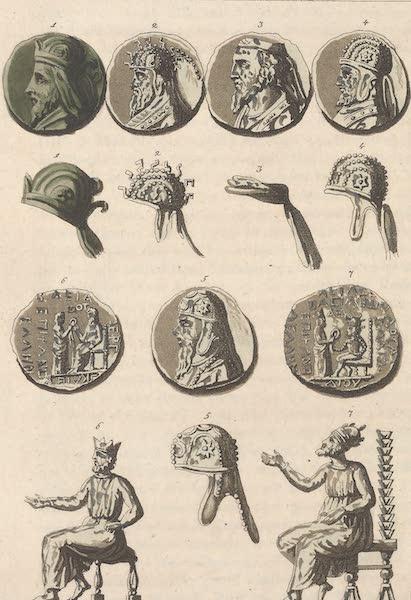 Le Costume Ancien et Moderne [Asie] Vol. 3 - Costume des Rois Arsacides (1817)