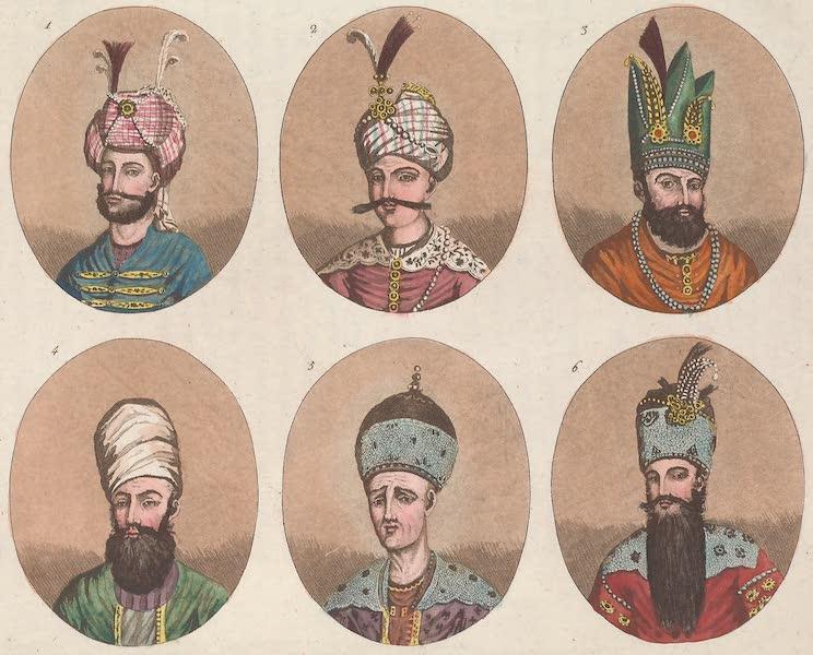 Le Costume Ancien et Moderne [Asie] Vol. 3 - Portraits des Rois de Perse (1817)