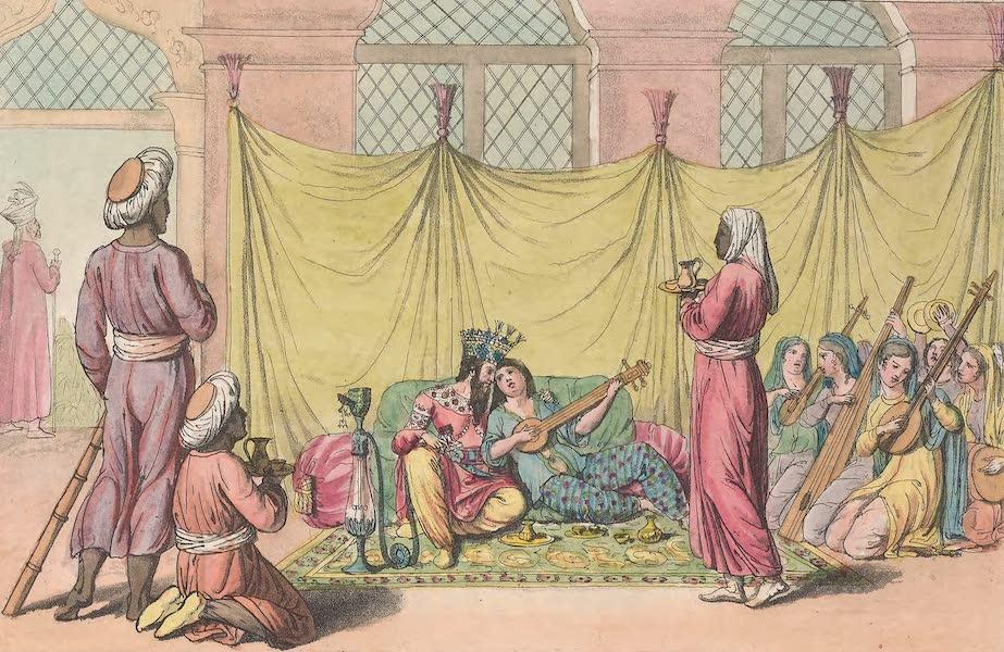 Le Costume Ancien et Moderne [Asie] Vol. 3 - Un Sultan sans son harem (1817)