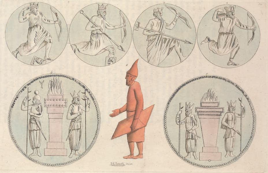 Le Costume Ancien et Moderne [Asie] Vol. 3 - Habillement et armes des anciens Perses (1817)