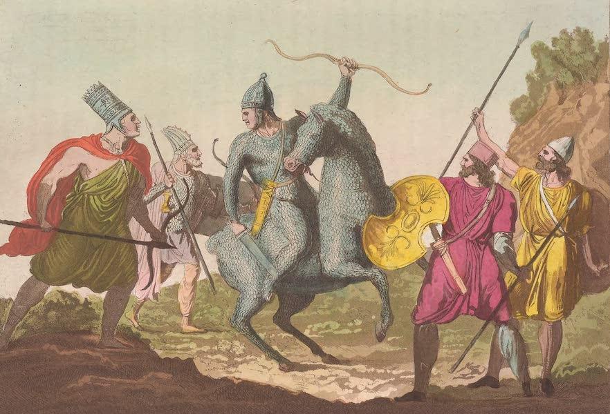 Le Costume Ancien et Moderne [Asie] Vol. 3 - Costume militaire des Arsacides etc (1817)