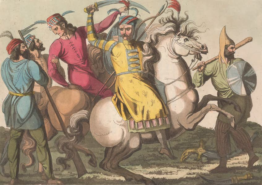 Le Costume Ancien et Moderne [Asie] Vol. 3 - Armes des Persans modernes (1817)