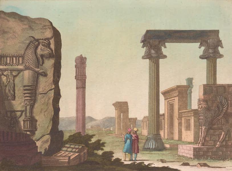 Le Costume Ancien et Moderne [Asie] Vol. 3 - Portes, colonees etc du palais de Persepolis (1817)